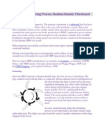 The Manufacturing Process Medium Density Fibre Board