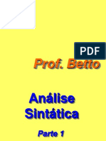 AnáliseSintática(Parte1)