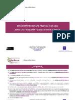 Programa #Blogeu Salida Rioja Alavesa_16.06.12