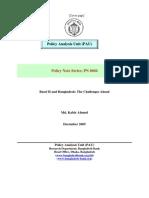 Basel II and Bangladesh