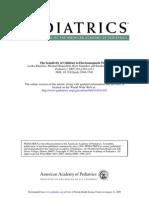 Pediatrics Sensitivity of Children to Electromagnetic Fields PKheiferts Epacholi, Saunders,