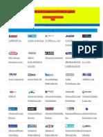 Elektronik Komponent Üretici Logoları