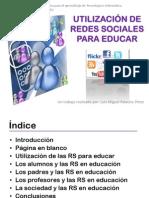 Utilización_Redes Sociales para educar