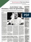 La Voz de Almería, Un economista de letras