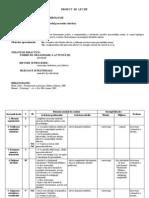 Rolul Proceselor Afective Proiect de Lectie