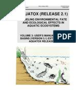 2005 10 27 Models Aquatox Technical Basins