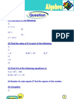 Algebra 2nd Prepp