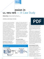 Ion Suppression in LC-MS-MS -- A Case Study