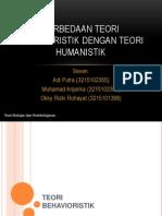 Teori Belajar Humanistik Okky,Anjar,Adi