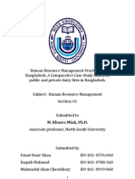 Human Resource Management-Project