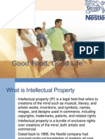 IP rights of Nestle