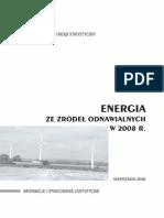 PUBL Se Energia Zrodla Odnawialne 2008