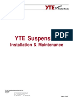 YTE Suspension Installation Maintenance