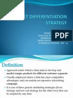 Market Differentiation Strategy