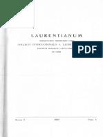 Camille Bérubé - Eros et Agaper chez Duns Scot (Laurentianum, 9 (1968), pp. 439-449)