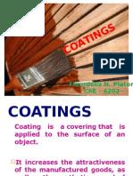 COATINGS - Industrial Chemistry