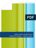 Policy Review of Permanent Impairment Guide - Options Paper v2
