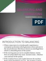 Balancing and Vibrations