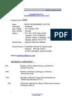 Imad Mohammed Zayyat m.d _ Medics Index Member Profile