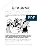 Holy Week Story