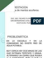 REFORESTACION ESC. SEC. RICARO FLORES MAGÓN