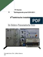 Hannes Cailliez Dosier Electro Pneumatic Pres