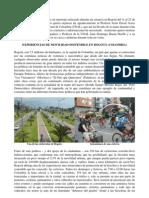 EXPERIENCIAS DE MOVILIDAD SOSTENIBLE EN BOGOTÁ (COLOMBIA)