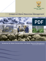 Water Conservation Exec Summary Level 1