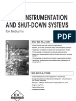 Safety Instrumentation and Shut-Down Systems