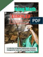 Working Math Sampler