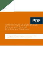 Information Design Basics