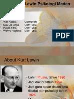 Teori Kurt Lewin Psikologi Medan