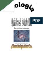 CURSO BIOLOGIA QUÍMICA DA CÉLULA VIVA