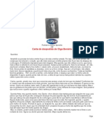 Carta de Olga Benario