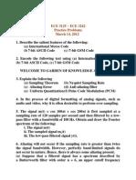09 ECE 3125 ~ ECE 3242 - Practice Problems - March 14 2012