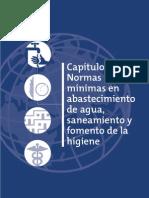Normas Minimas de Abastecimiento,Saneamiento e Higiene