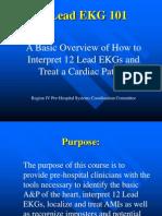 12 Lead EKG 101