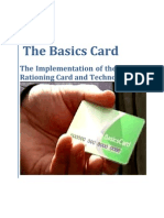 Carbon Tax - Energy Rations - the Basics Card