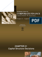 Chapter 21 - Capital Structure Decisions