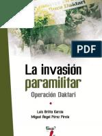Invasion Paramilitar - Operación Daktari