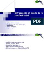 Introduccion telefonia movil