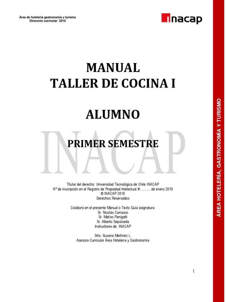 manual cocina On manual de tecnicas de cocina