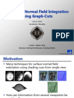Multiview Normal Field Integration using Graph-Cuts - CESCG presentation