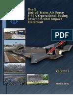 F-35 Environmental Impact Study - Volume I