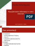 Szatkowski Wyszukiwanie Informacji w Sieci Internet