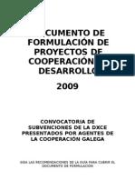 ProyectoQuime-XGalicia2009 APORTES TERESA Corregido