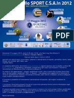 Festival dello Sport 2012 Sporting Club Milano 3 - Antoitalia 13 maggio 2012