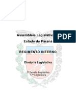 Regimento Interno - ALEP