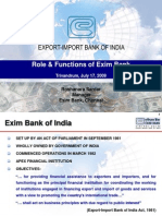 18989733 Role Functions of Exim Bank1