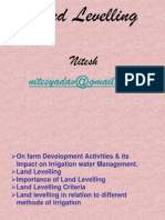 Land Levelling